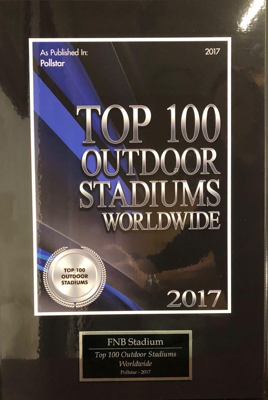 Top 100 Outdoor Stadiums Worldwide for 2017.